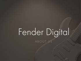 Fender为什么要死磕数字化? 《财富》杂志去寻找答案了