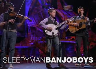 小提琴+吉他+斑鸠琴,最强小正太蓝草乡村音乐三人组