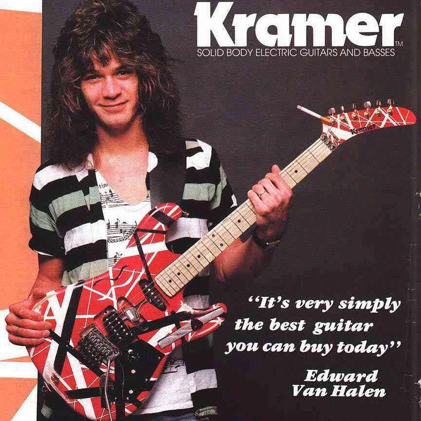 大师陨落!吉他演奏家艾迪·范·海伦因咽喉癌去世,你或许对他的音乐没记忆,但你的电吉他到处都是他的影子