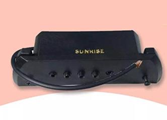 致敬SUNRISE:天音MS-1与Sunrise S2被动拾音器对比测试